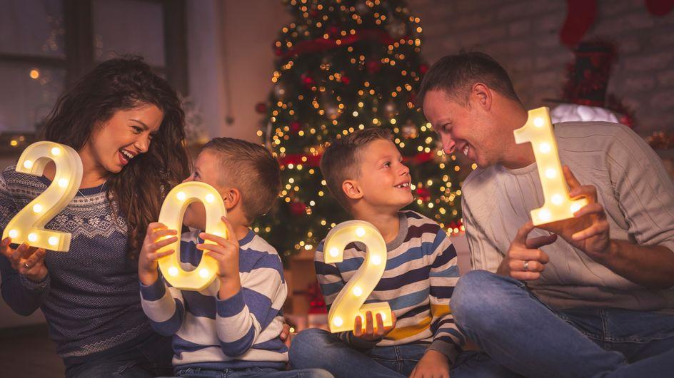 Nouvel an en famille : six activités à faire avec nos enfants pour une bonne soirée assurée !