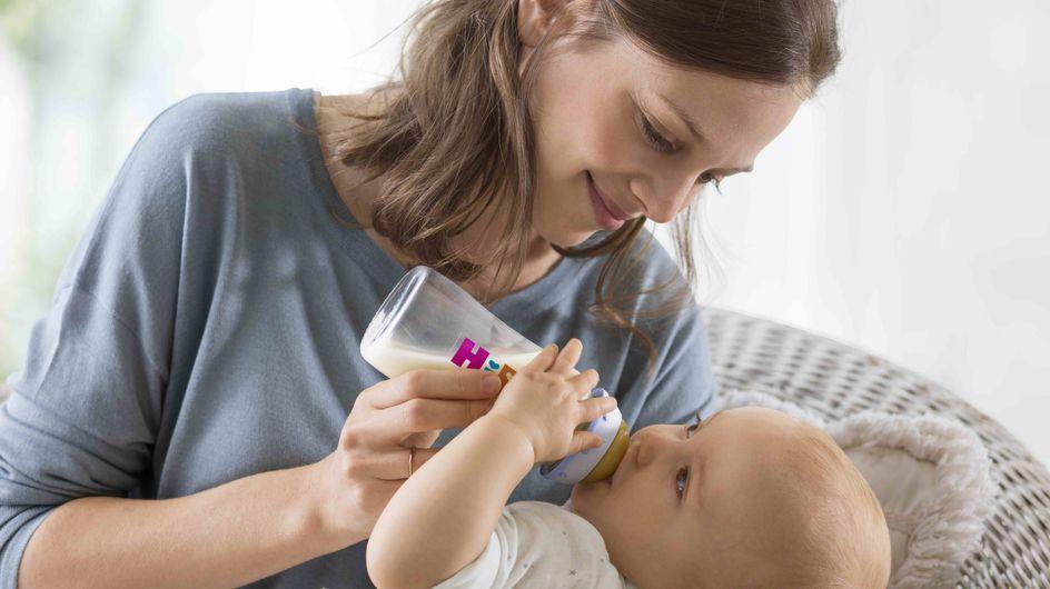Allattamento misto: come capire se il bebè ha bevuto a sufficienza