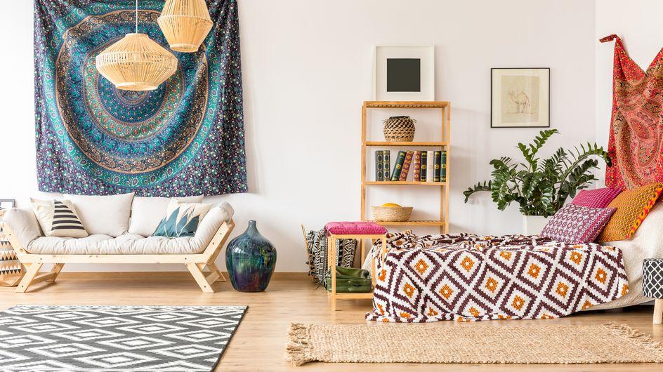 Arredare etnico: una casa ispirata ai colori orientali
