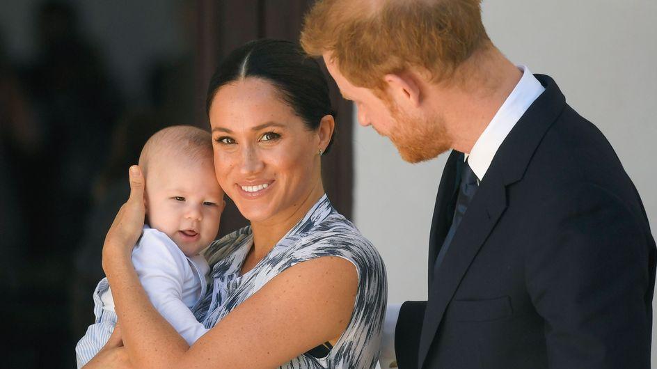 Meghan Markle et le prince Harry dévoilent leur carte de voeux : Archie a bien grandit !