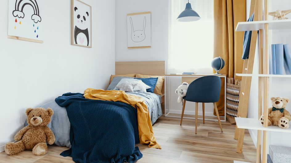 Kleines Kinderzimmer einrichten: 13 niedliche Ideen und platzsparende Tipps