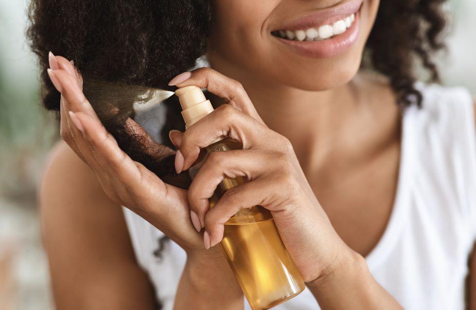 Cheveux secs: Comment hydrater en profondeur sa chevelure?