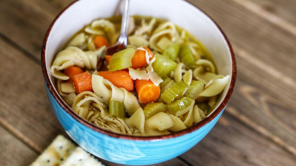 Schnelle Nudelsuppe: Leckeres Rezept mit viel Gemüse