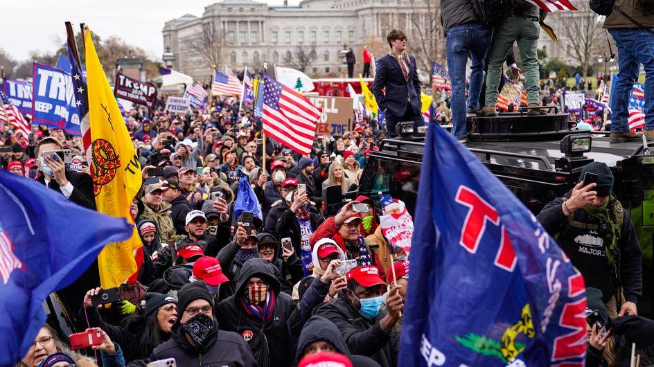 Invasion du Capitole : les photos chocs d'un moment terrifiant
