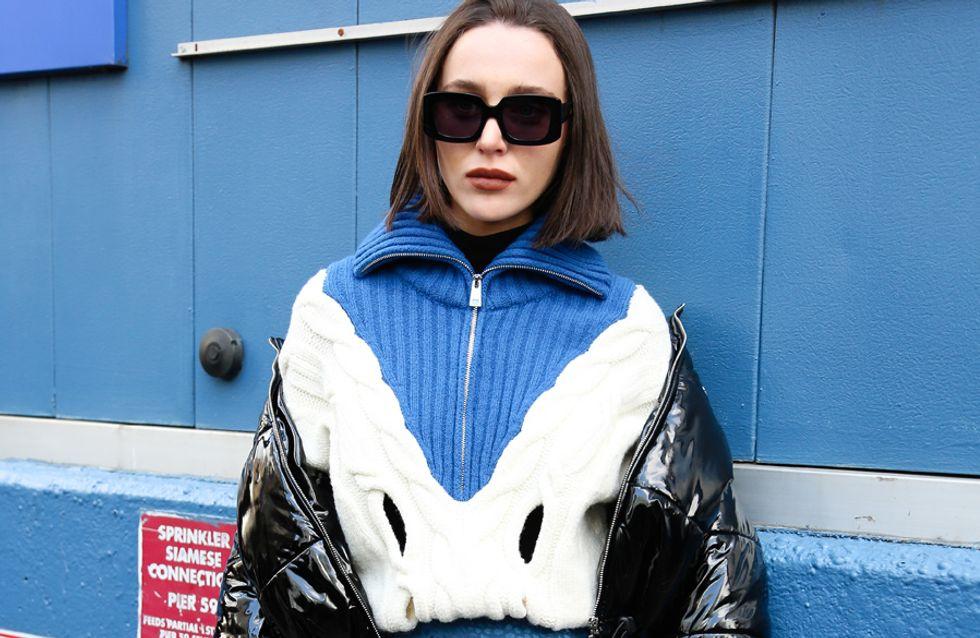 Zipper-Pullover: Die schönsten Modelle und wie man den Trend richtig stylt