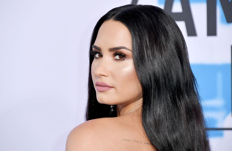 Demi Lovato : coup de coeur pour son nail art féministe qui célèbre toutes les poitrines