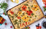 Tendance food : on craque pour cette focaccia fleurie qui fait le buzz !