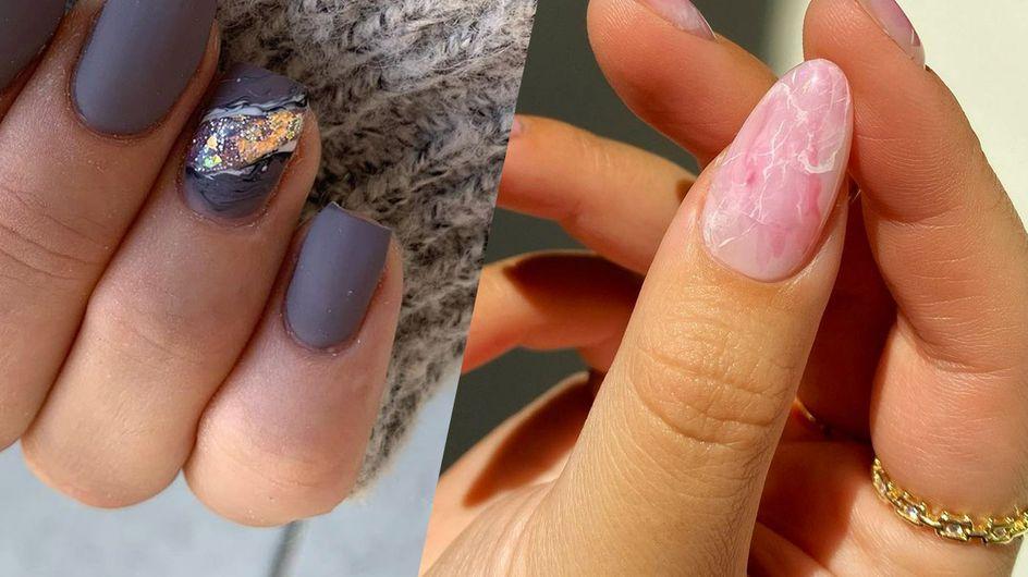 Geode nails : on adopte la manucure façon pierres précieuses !
