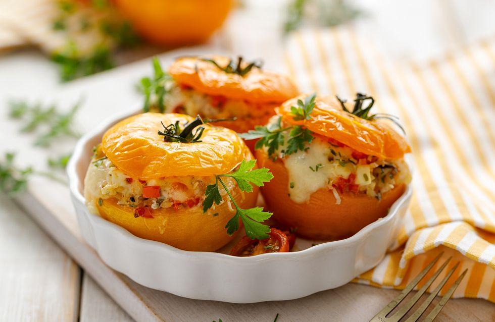 Gefüllte Tomaten: Schnelles Rezept mit Hackfleisch und Reis