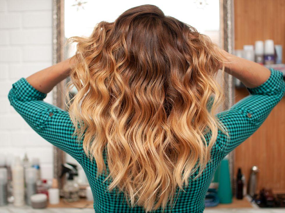 Übertönen blonde strähnen Frisuren Rote