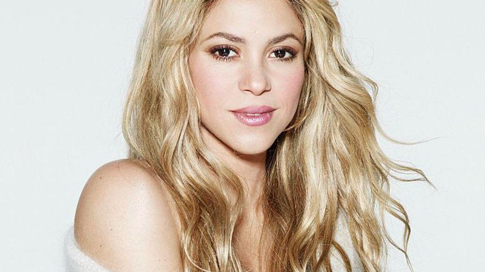 Shakira ose une nouvelle coloration des plus extravagantes...