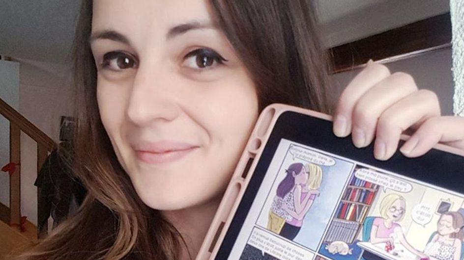 Deuil périnatal : cette illustratrice brise le silence dans une bande dessinée