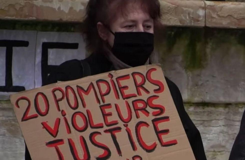 Affaire Julie : le témoignage poignant de la jeune femme qui accuse des pompiers de viol