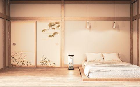 come arredare una camera da letto: letto tatami