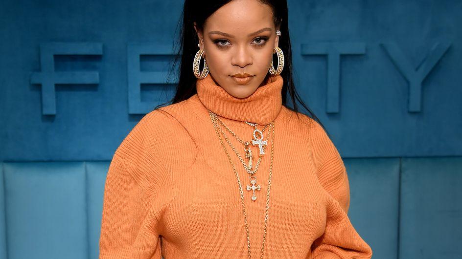 Avec ce collier, Rihanna se retrouve au cœur d'un sacré bad buzz