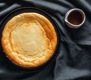 Un délicieux gâteau sans farine, sans beurre et sans sucre avec seulement 5 ingr