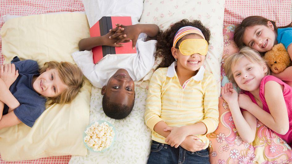 7 mosse per organizzare il pigiama party perfetto in casa tua