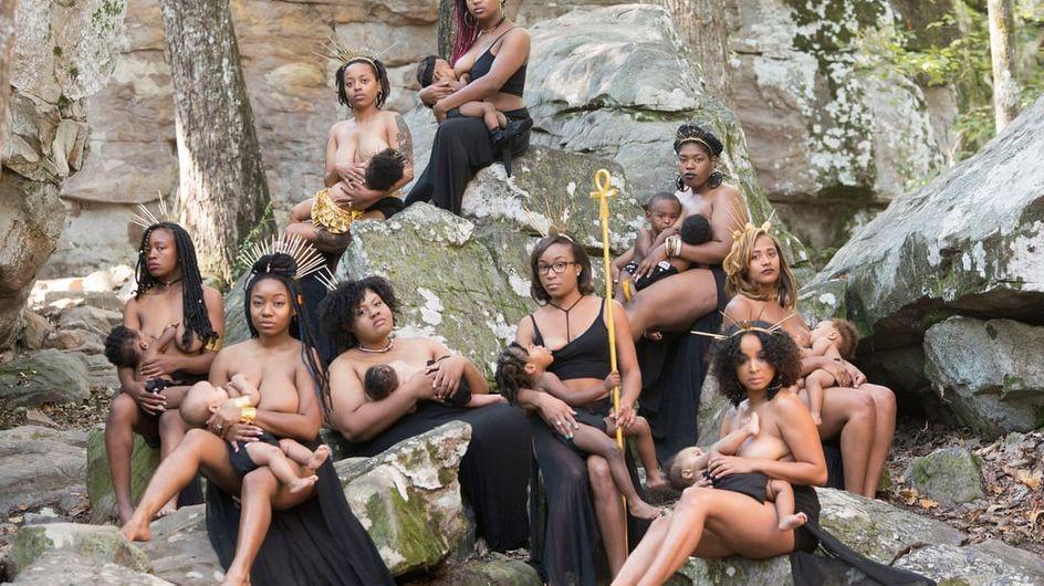 Ces mères normalisent l'allaitement chez les femmes noires avec une série de photos incroyables