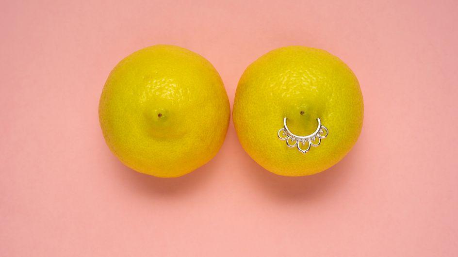 Todo sobre el piercing en el pezón, la joya del pecho...
