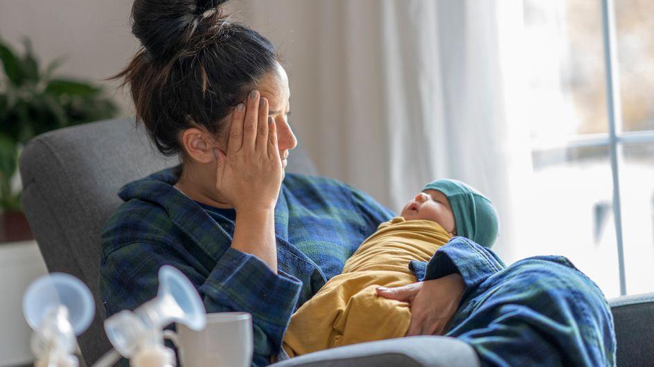 Baby blues: cos'è e in cosa si differenzia dalla depressione post partum