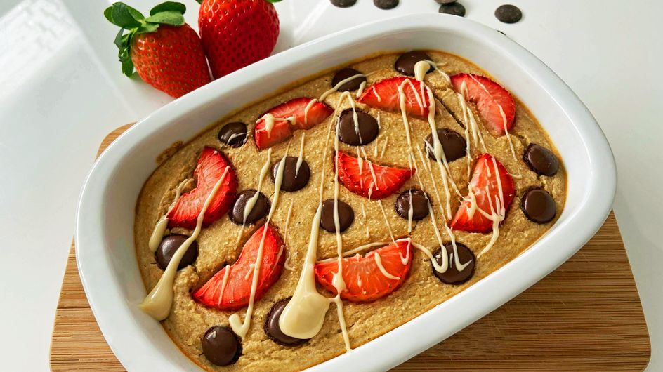 Veganer Frühstückskuchen: Himmlisches Rezept für Baked Oats