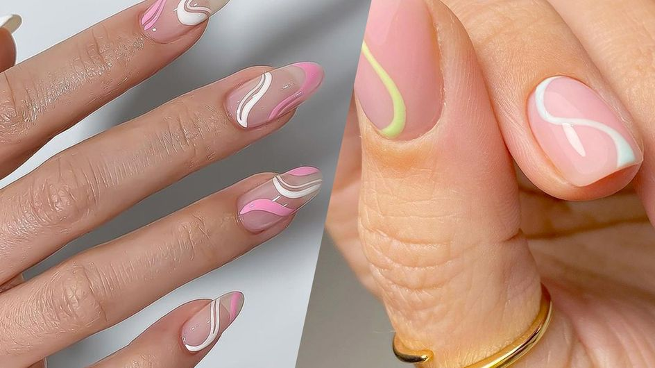 Manucure : voici LE motif tendance à dessiner sur vos ongles