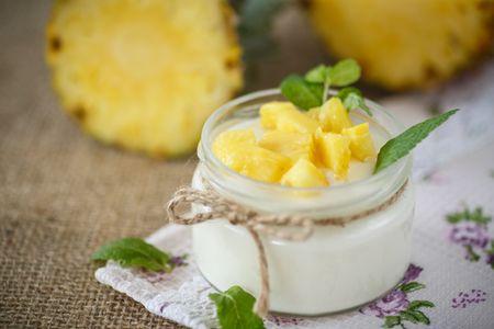 Yaourt à l'ananas