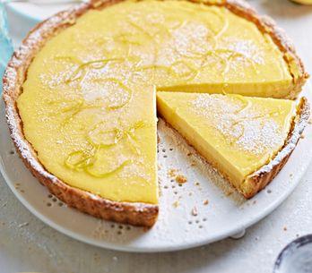 Zitronen-Tarte: Einfaches Rezept! So lecker und erfrischend