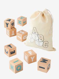 10 grands cubes lettres- Verbaudet - dès la naissance - à partir de 19,99€