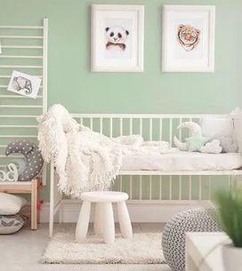 Chambre de bébé : optez pour le vert d'eau, une couleur parfaite pour un tout-pe