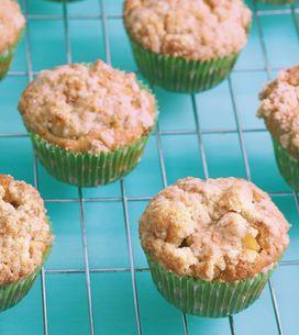 Saftige Apfelmus-Muffins: So lecker! Geniales Blitz-Rezept