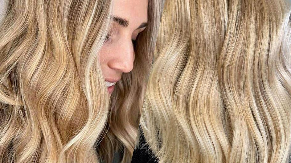Coloration buttercream blonde : le blond le plus craquant du moment !