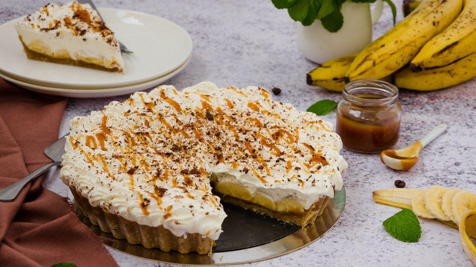 Banoffee-Kuchen: Weltbestes Rezept mit Banane, Karamell und Schmand