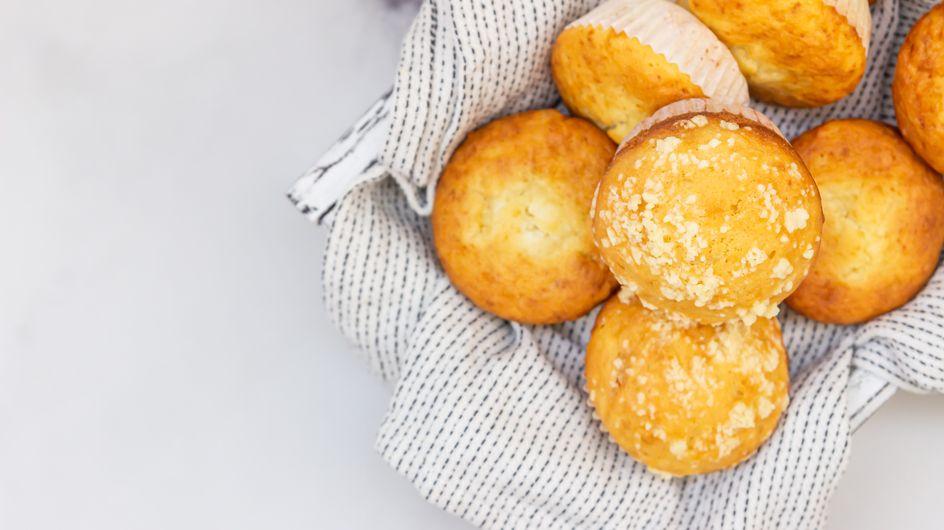 Muffins mit Vanillepudding: So saftig! Einfaches Rezept