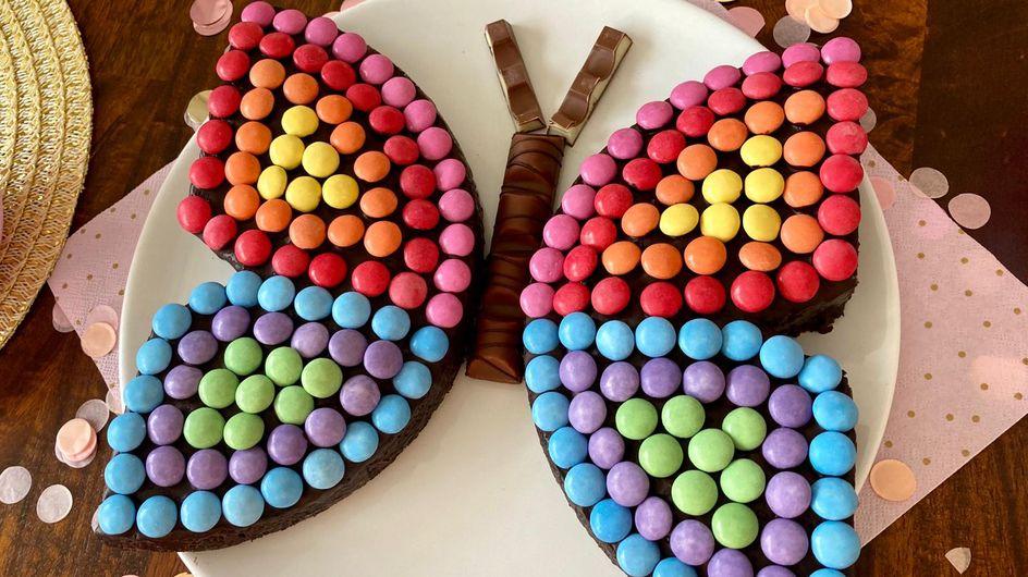 Schmetterlingskuchen: Dieses Rezept schmeckt Groß und Klein