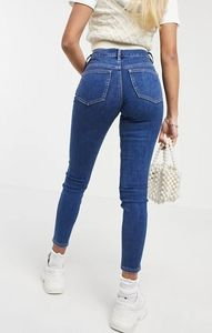 Ridley - Jeans skinny a vita alta lavaggio medio
