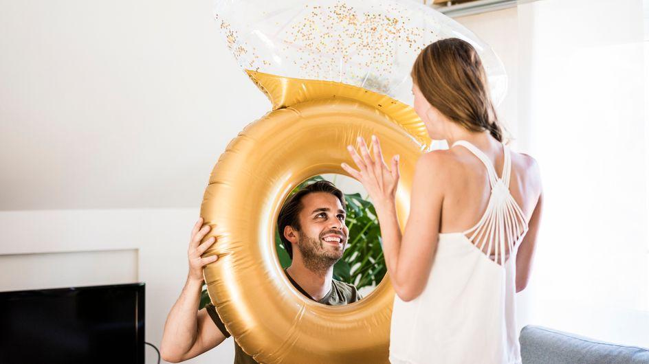 """Proposta di matrimonio: le idee originali per farle dire """"sì"""""""