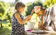 Matschküchen für Kinder: Auf die Plätze, fertig, matschen!