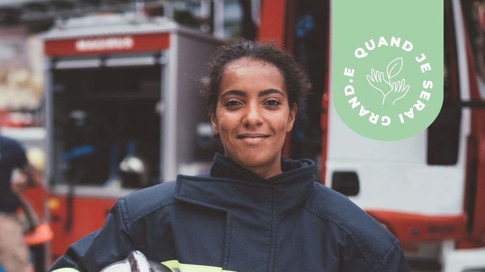 """""""J'ai réussi à être pompière"""" : Sarah, 23 ans, nous raconte son parcours inspirant"""