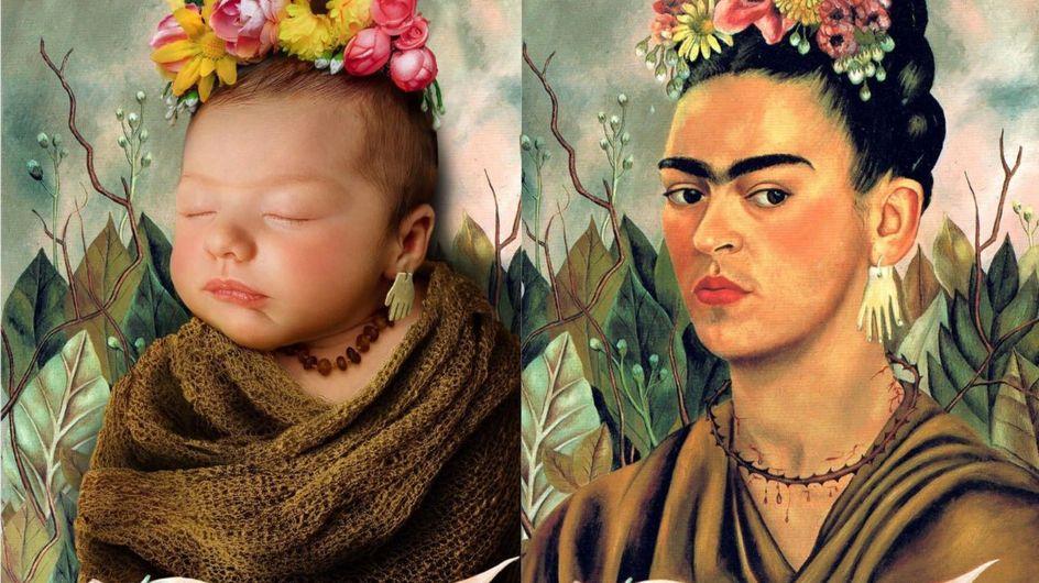 Ce papa transforme son bébé en véritable œuvre d'art... et c'est magique !