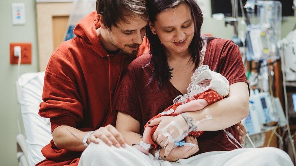 """""""Incroyable, on l'a eu une semaine entière"""" : ce bébé est venu au monde pour sauver d'autres enfants"""