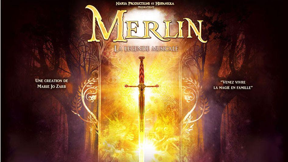 """""""Merlin, la légende musicale"""" : 3 raisons d'aller voir ce spectacle magique"""