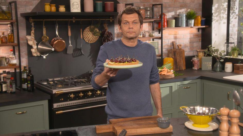 Laurent Mariotte : Découvrez sa recette de la tarte aux cerises surprenante !