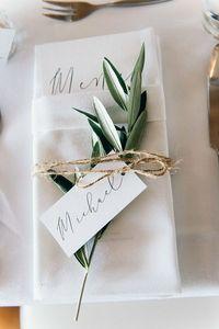 segnaposto matrimonio fai da te con erbe aromatiche