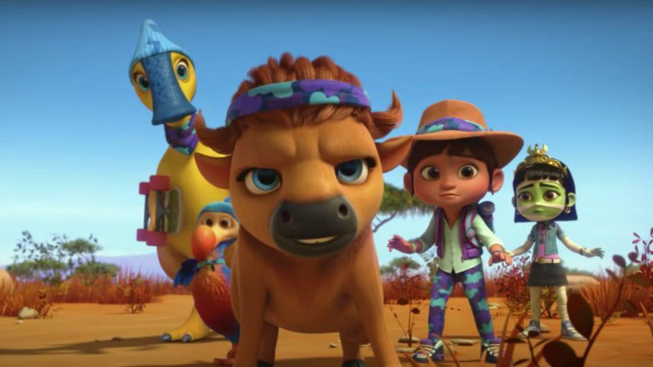 Netflix dévoile son premier dessin animé avec un personnage non-binaire
