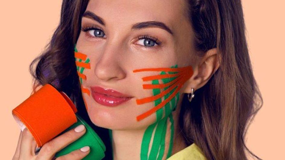 Face taping: la nuova frontiera dei trattamenti anti rughe