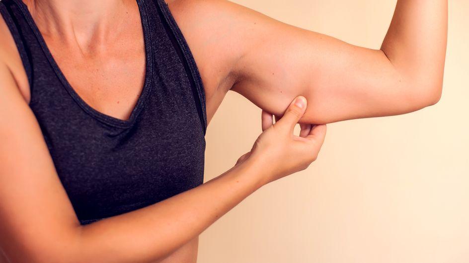 Pelle flaccida sotto le braccia: ecco il trucchetto per sbarazzarsene