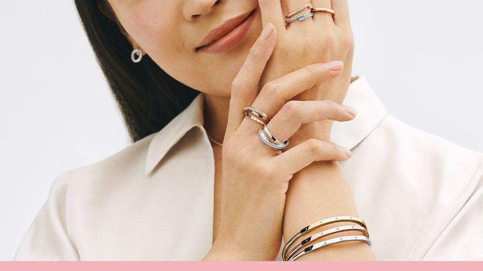 Découvrez la nouvelle collection Pandora Signature et profitez des réductions jusqu'à -50% sur une sélection de bijoux