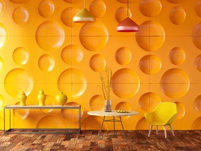 color ambra: si può scegliere una pittura di questo colore per donare luce all'ambiente dell'appartamento in cui si abita