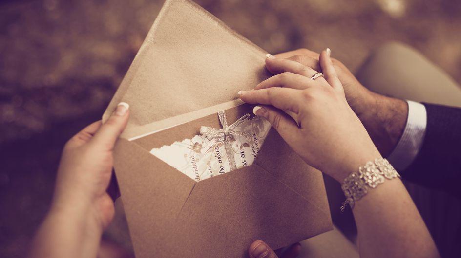 Mariage : avec ces mariés, plus beau sera le cadeau, mieux vous mangerez